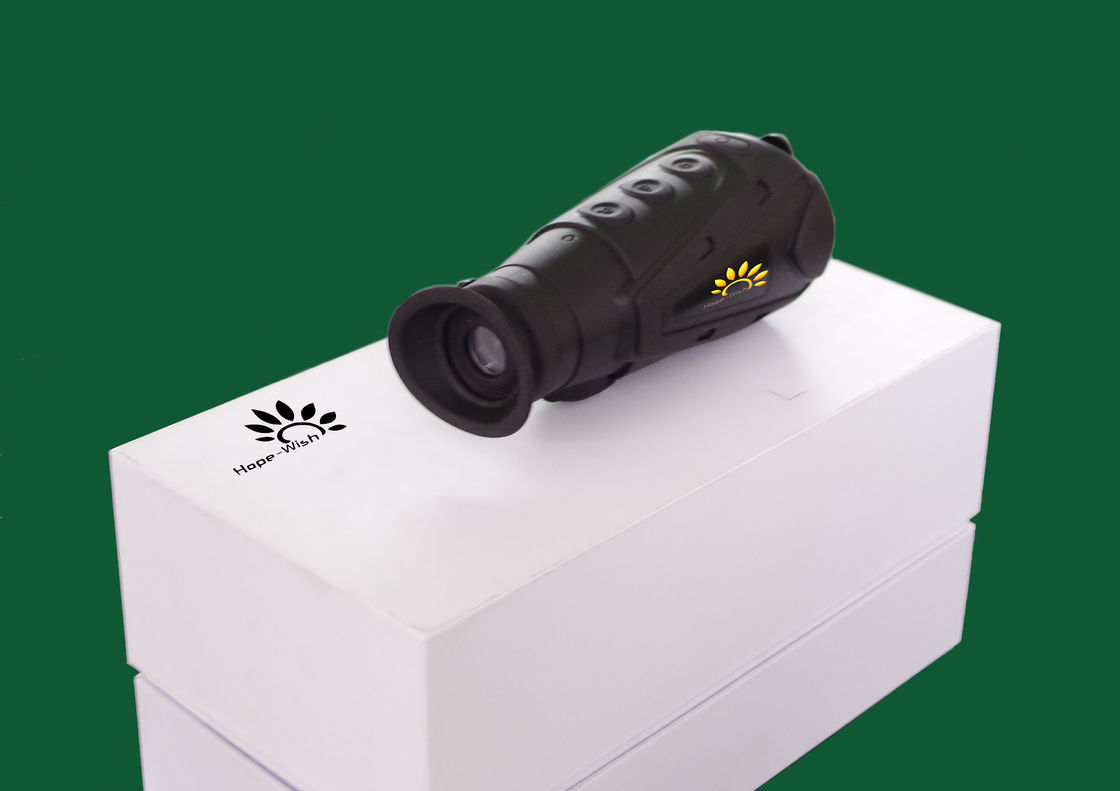 Long Range Security Thermal Handheld Monocular , Uncooled Thermal Vision Monocular