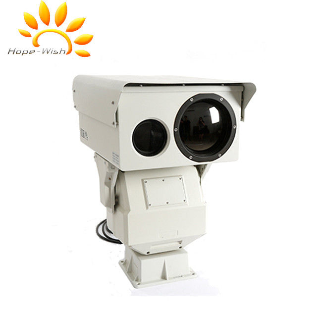 Dual Sensor Thermal Imaging Camera , PTZ infrared Border Surveillance Camera