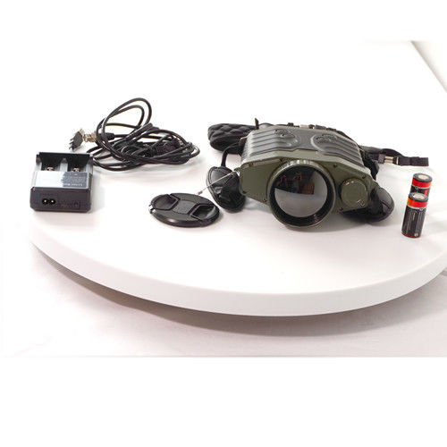 Multi Functional Long Range Binoculars , Military Infrared Binoculars With 5km LRF