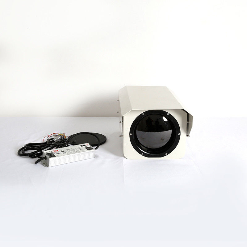 Outdoor Infrared Thermal Imaging Camera / Ir Thermal Camera For Coastal Security