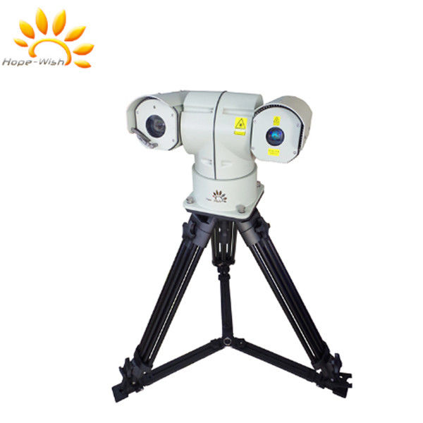 50° Laser Source infrared PTZ Camera With 808nm Illuminator Surveillance