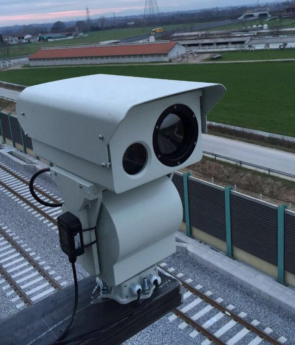 Military Grade Dual Thermal Camera HD PTZ Infrared Camera For Border Security