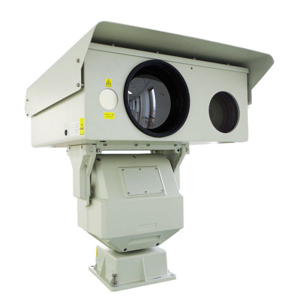 Night Vision High Resolution Thermal Camera Long Range Laser Surveillance System